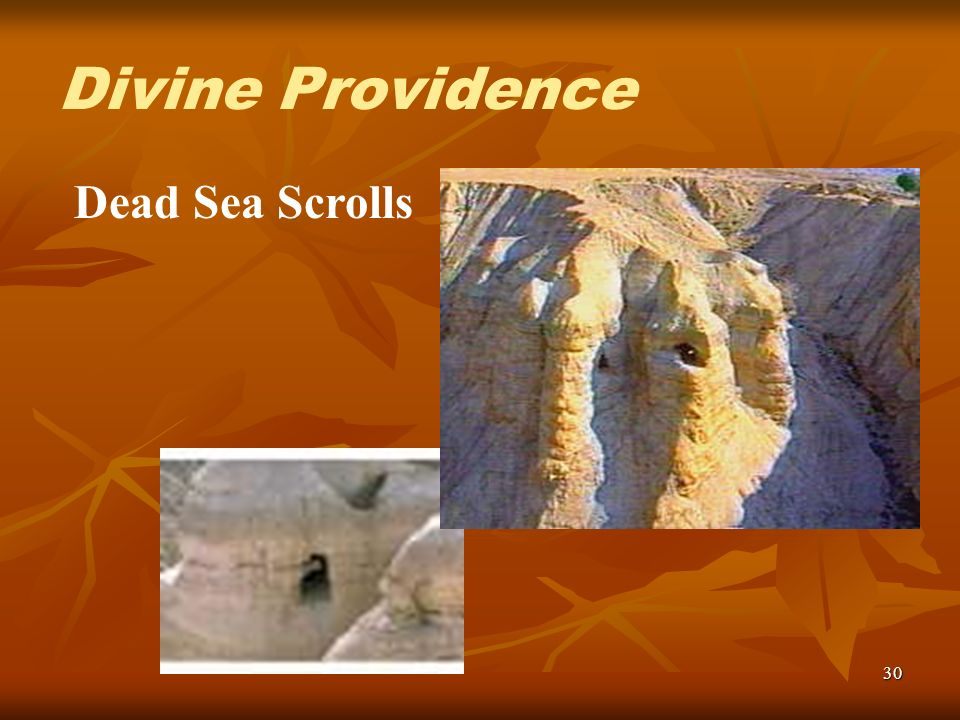 30 Dead Sea Scrolls Divine Providence