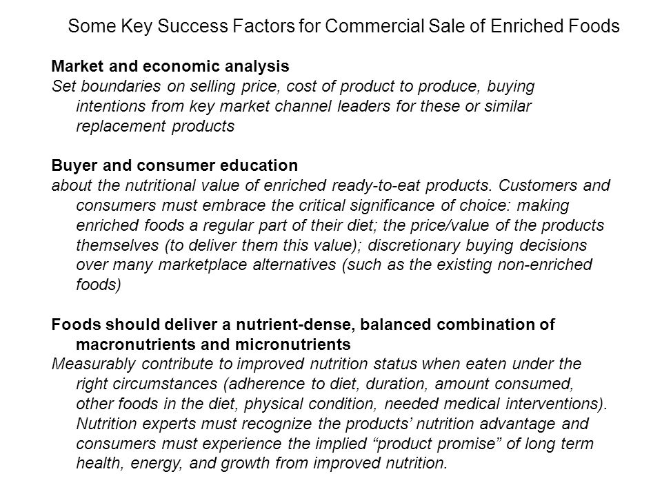 Market and economic analysis Set boundaries on selling price, cost of product to produce, buying intentions from key market channel leaders for these