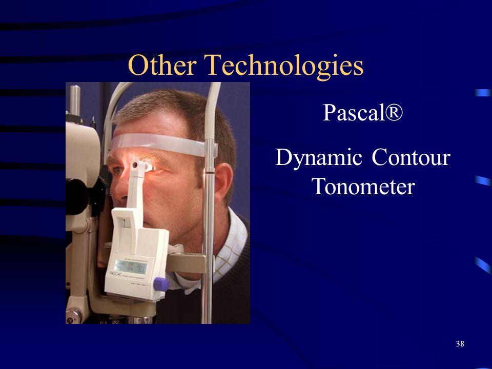 Other Technologies Pascal® Dynamic Contour Tonometer 38
