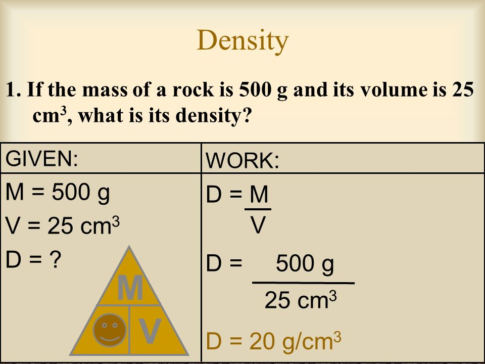 Lets Try Some More Density Problems