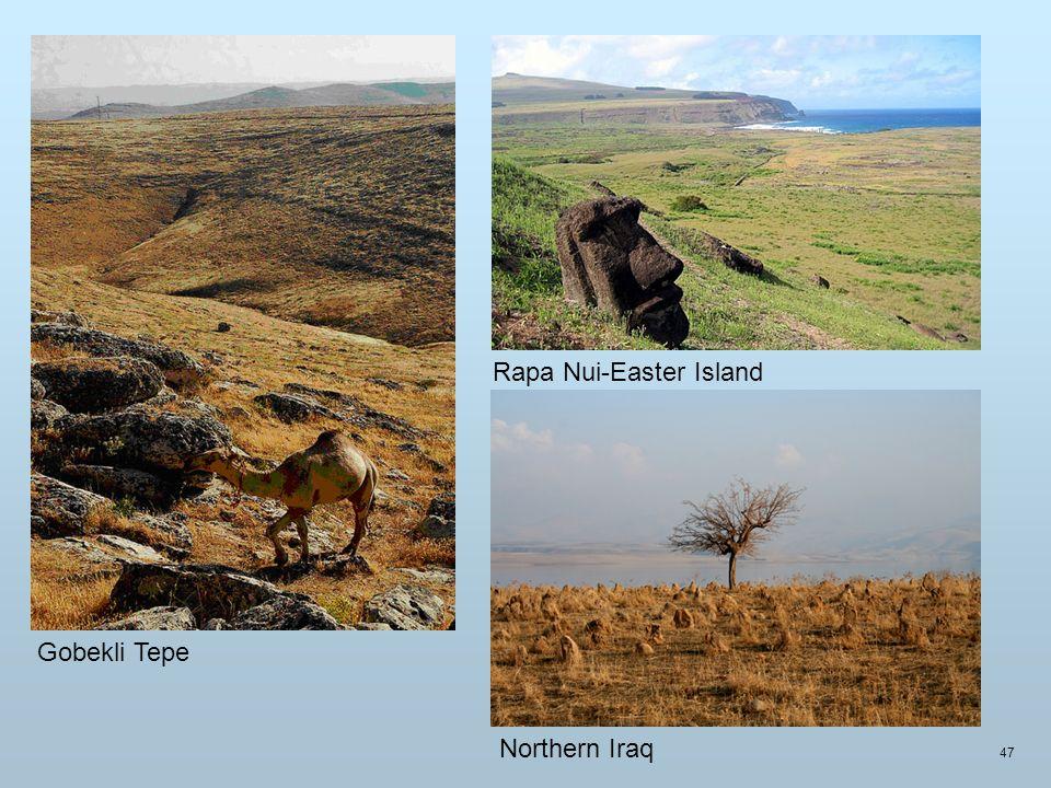 Gobekli Tepe Rapa Nui-Easter Island Northern Iraq 47