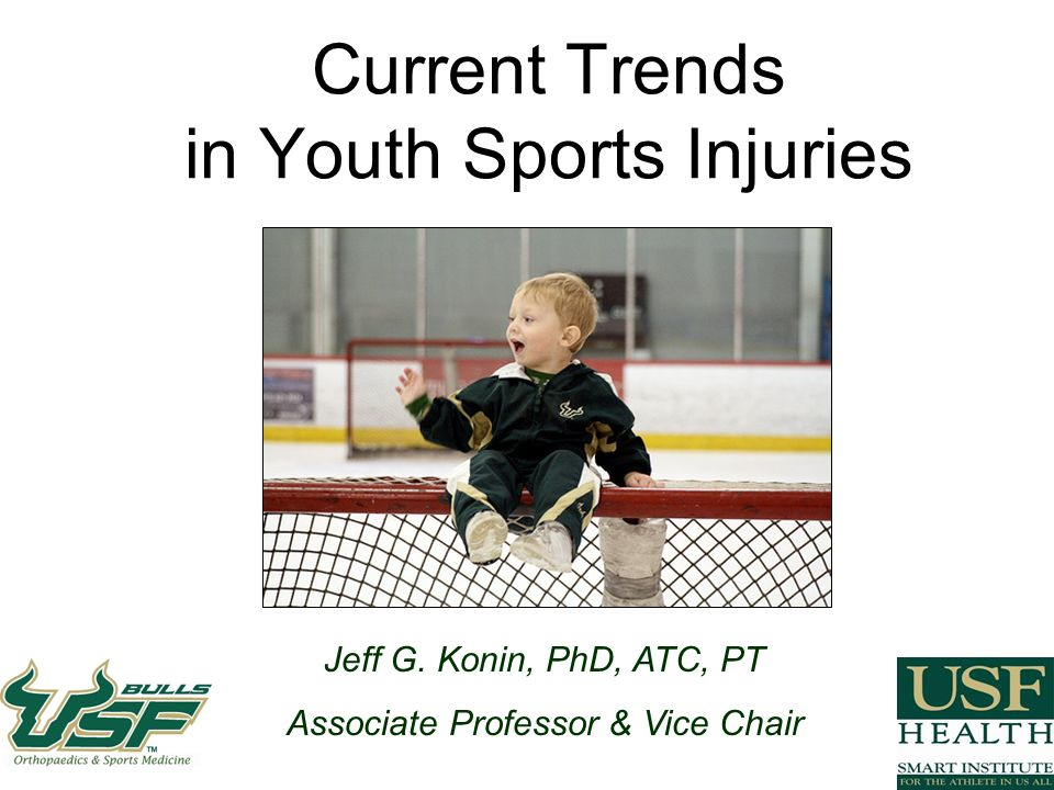 Konin Copyright 2009 Recovery patterns of athletes reporting posttraumatic headache following sports-related concussion Register et al, JAT 2006* Prospective randomized experimental study 375 concussed high school and collegiate athletes average age 16.65 +/- 1.87 Self-reported graded symptom checklist (GSC) Days 1,3, & 7 post injury data collection Conclusion: young athletes reporting PTH following a concussion endorse a higher number of symptoms and demonstrate decreases in neurocognitive performance when compared to those not reporting PTH Thus, headache is a sign of incomplete recovery