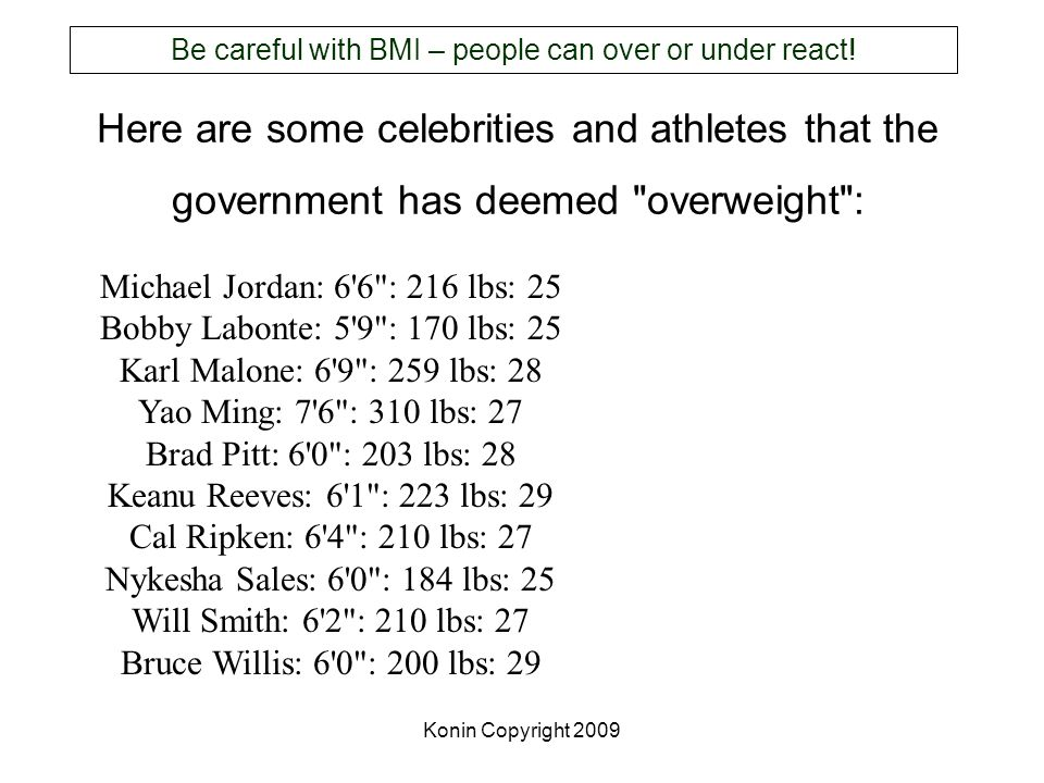 Konin Copyright 2009 Here are some celebrities and athletes that the government has deemed