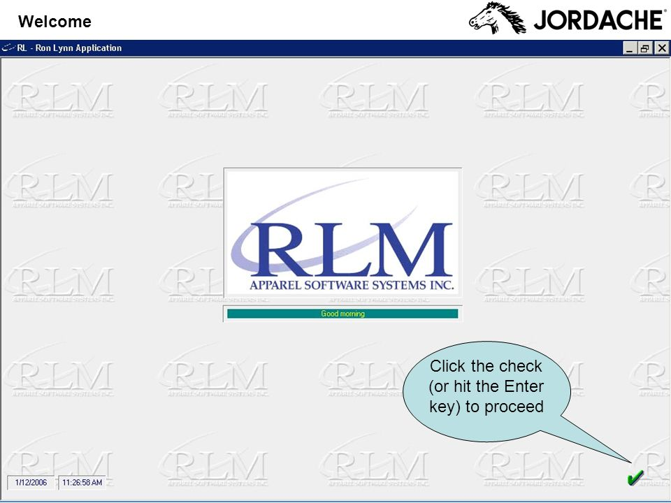 Enter 01 in the Company field If you dont enter a Company or enter the wrong number, you will receive this error: Click OK Select Application Enter the application number for the menu or click the correct button in the menu at left Enter the application number for the PO menu or click the correct button in the menu at left