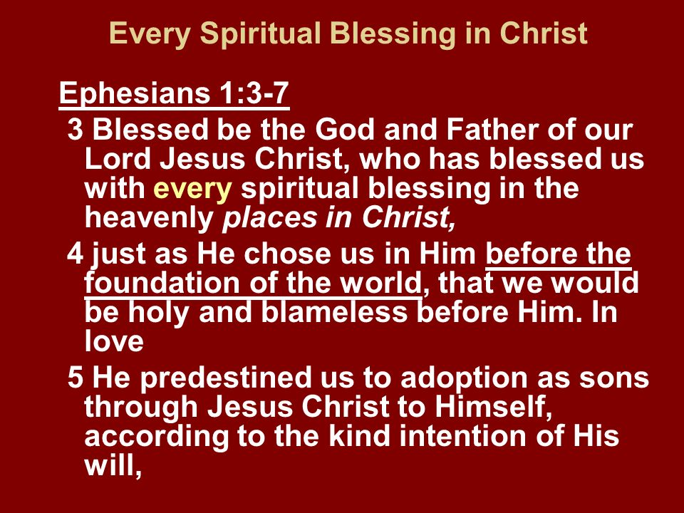 2 Thessalonians 2:13-14 13 But we should always give thanks to God for you, brethren beloved by the Lord, because God has chosen you from the beginning for salvation through sanctification by the Spirit and faith in the truth.