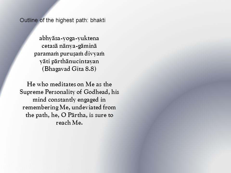 mattaù parataraà nänyat kiïcid asti dhanaïjaya mayi sarvam idaà protaà sütre maëi-gaëä iva (Bhagavad Gita 7.7) O conqueror of wealth, there is no truth superior to Me.