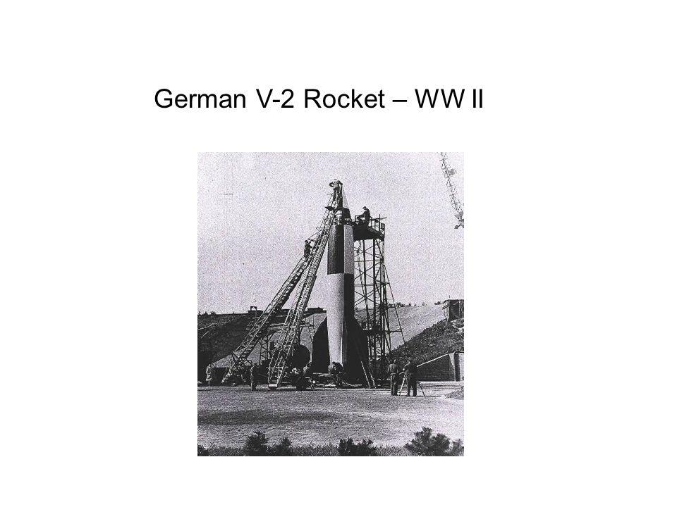 German V-2 Rocket – WW II