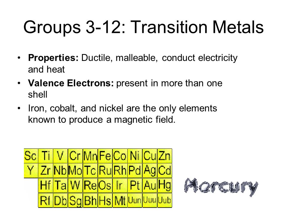 Group 2: Alkaline Earth Metals Very reactive Valence Electrons: 2; can bond easily with other elements Not found free in nature