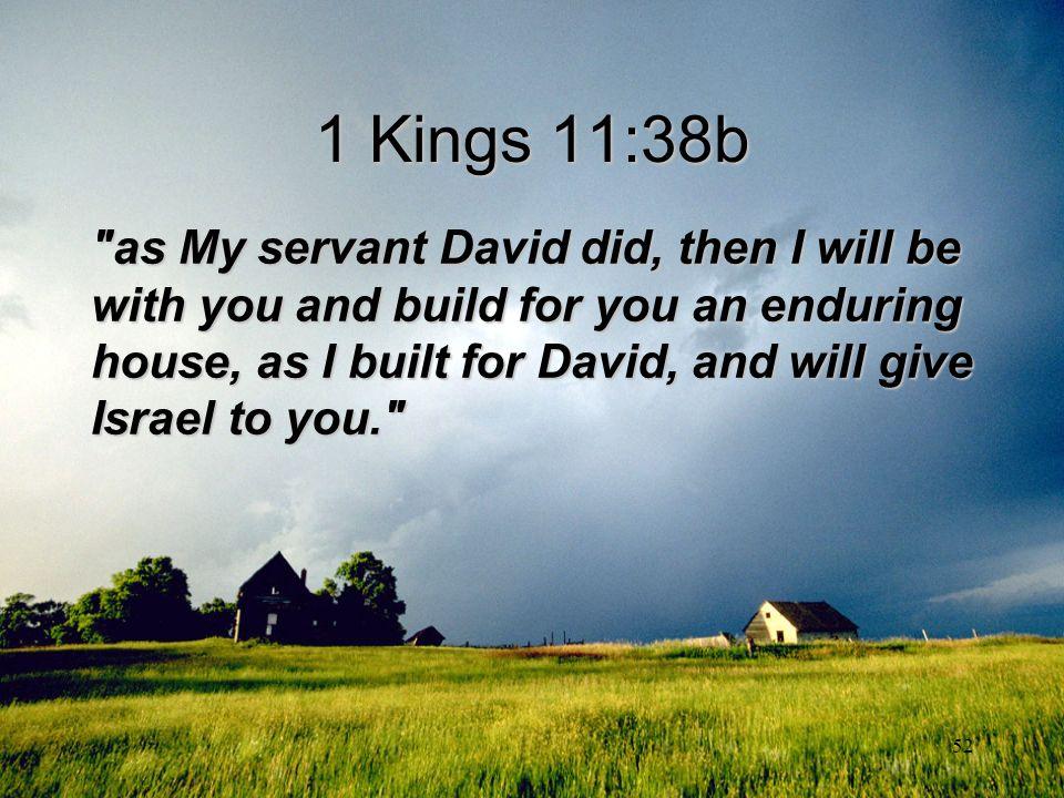 52 1 Kings 11:38b