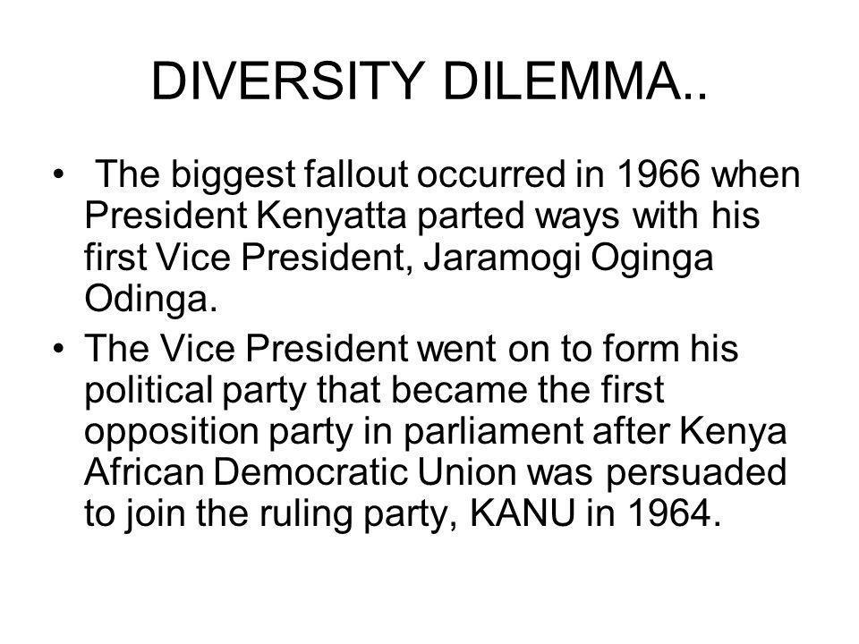 DIVERSITY DILEMMA..