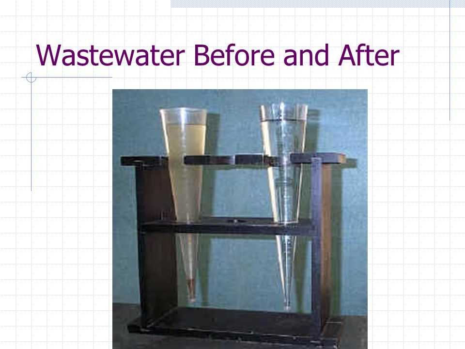 Wastewater Before and After