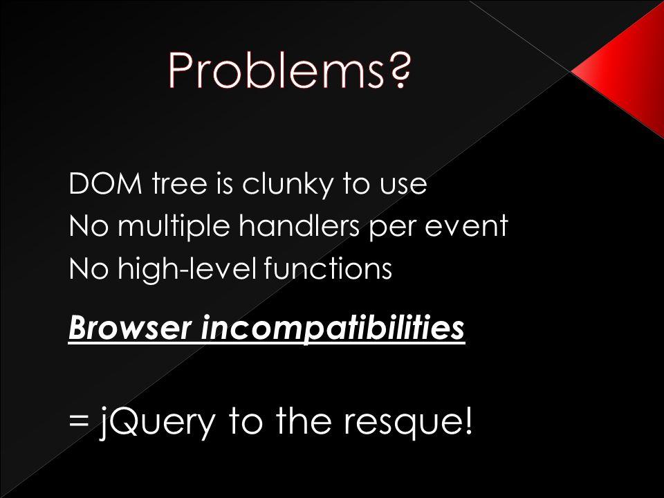 jQuery UI http://jqueryui.com Form plugin http://plugins.jquery.com/project/form More and more… http://plugins.jquery.com 50+ amazing examples http://www.noupe.com/jquery jQuery in action http://www.manning.com/bibeault