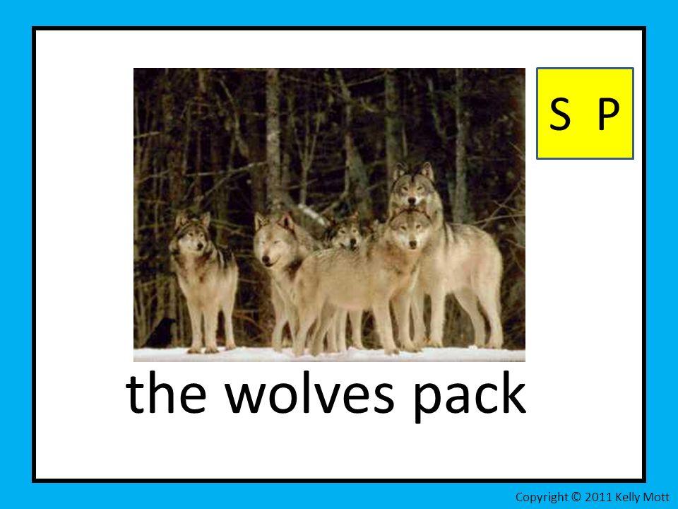 the wolves pack S P Copyright © 2011 Kelly Mott