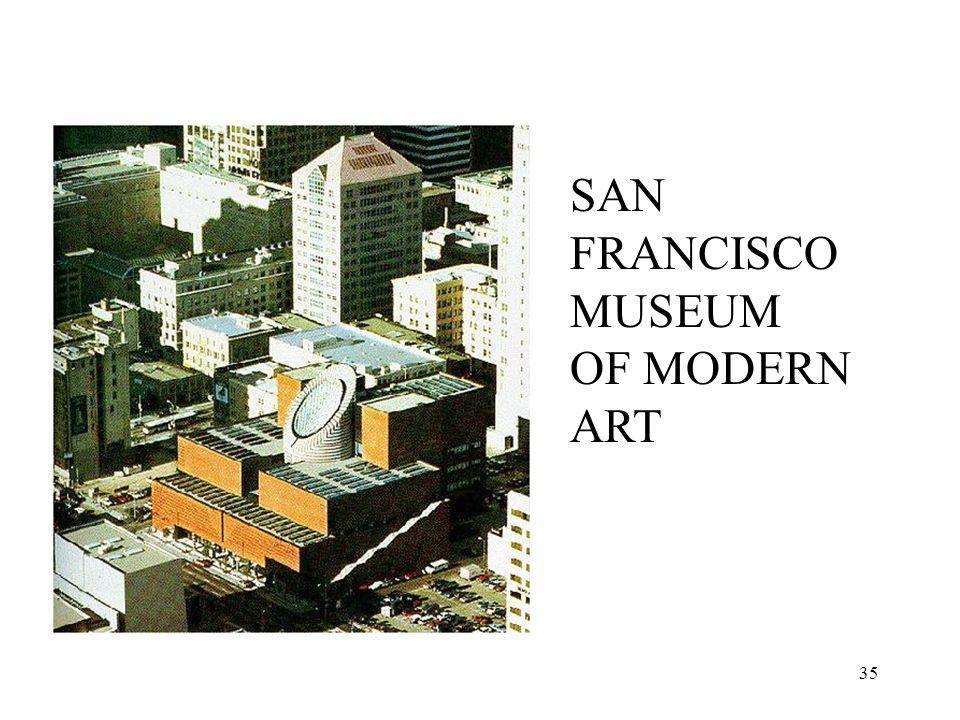 35 SAN FRANCISCO MUSEUM OF MODERN ART