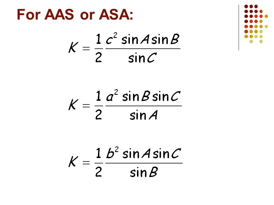 Finding the Area of a SSS Triangle: Can we do this? How?