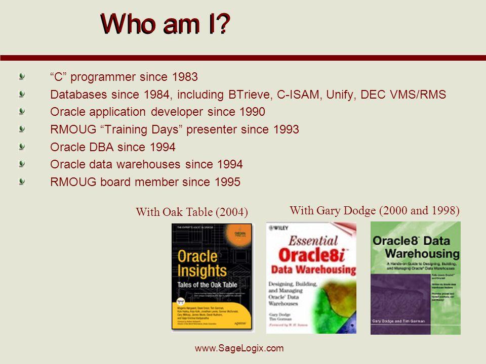www.SageLogix.com Who am I.