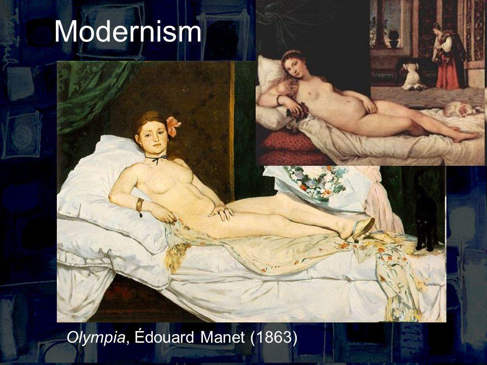 Modernism Olympia, Édouard Manet (1863)