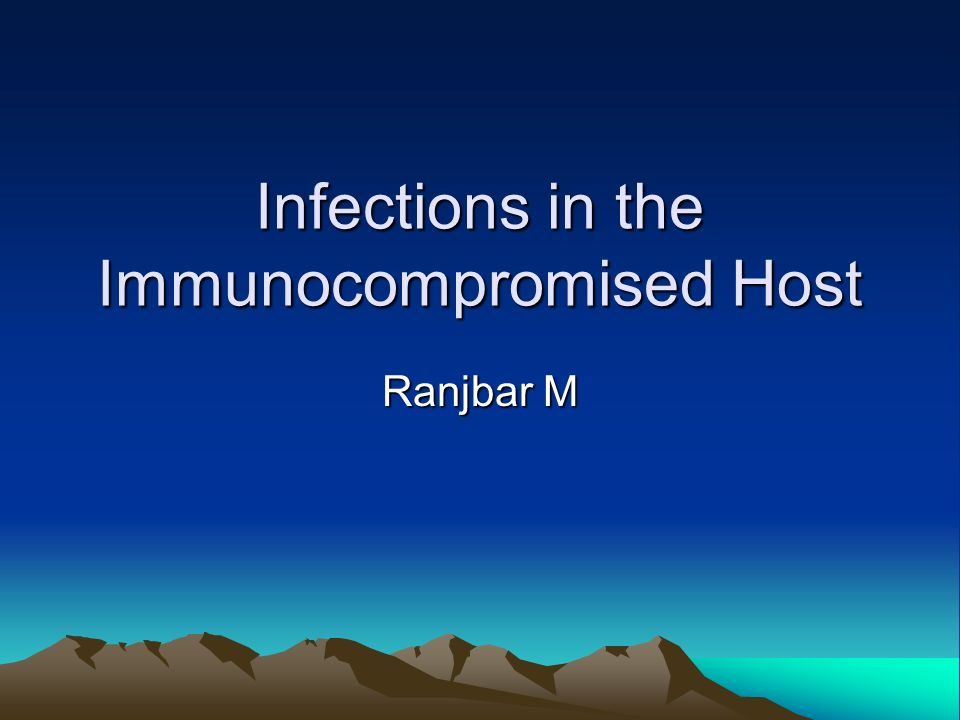 Potential etiologies of infection in these patients are diverse, including common, community-acquired bacterial and viral diseases and uncommon opportunistic infections of clinical significance only in immunocompromised hosts.