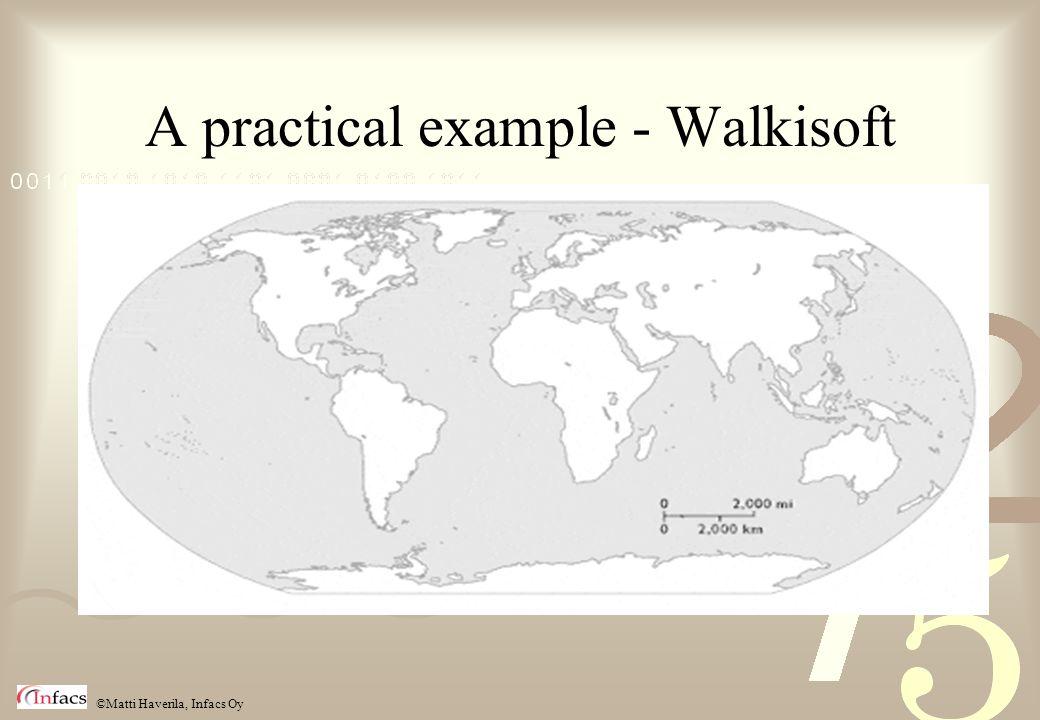 ©Matti Haverila, Infacs Oy A practical example - Walkisoft