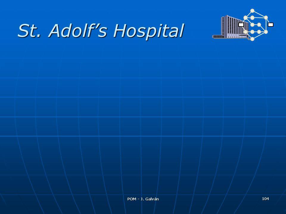 St. Adolfs Hospital 104 POM - J. Galván