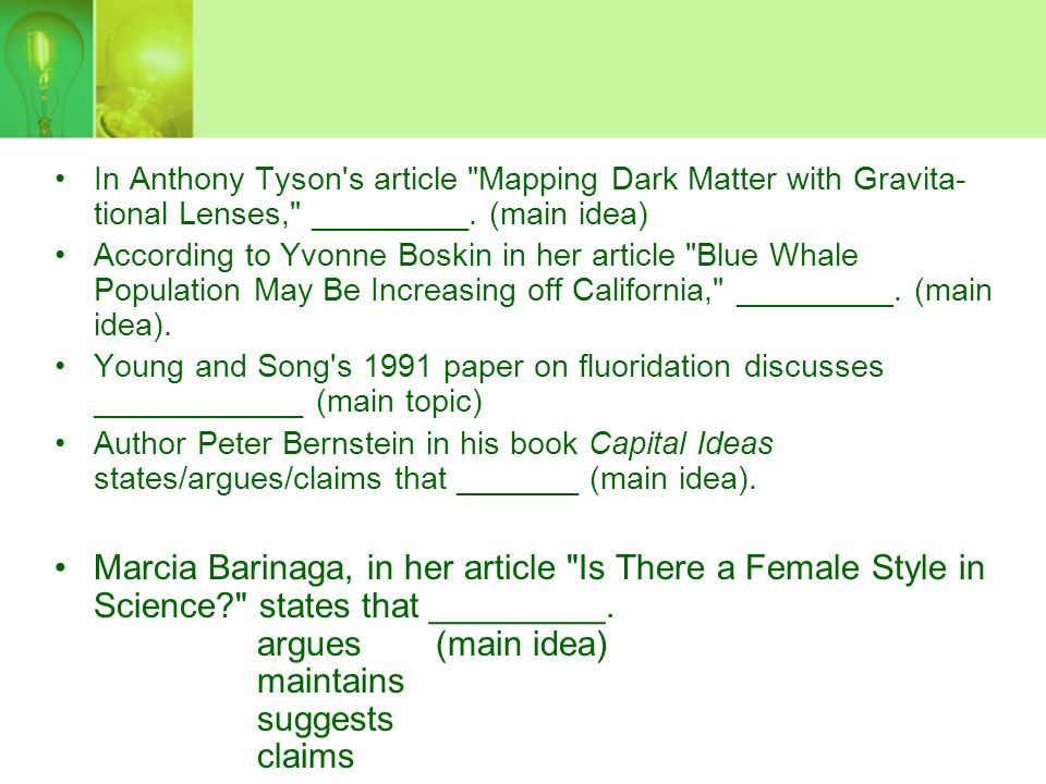 In Anthony Tyson s article Mapping Dark Matter with Gravita­ tional Lenses, _________.