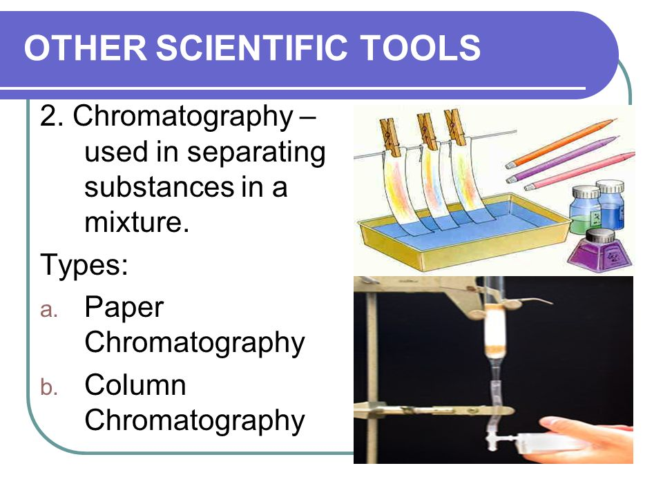 OTHER SCIENTIFIC TOOLS 1.