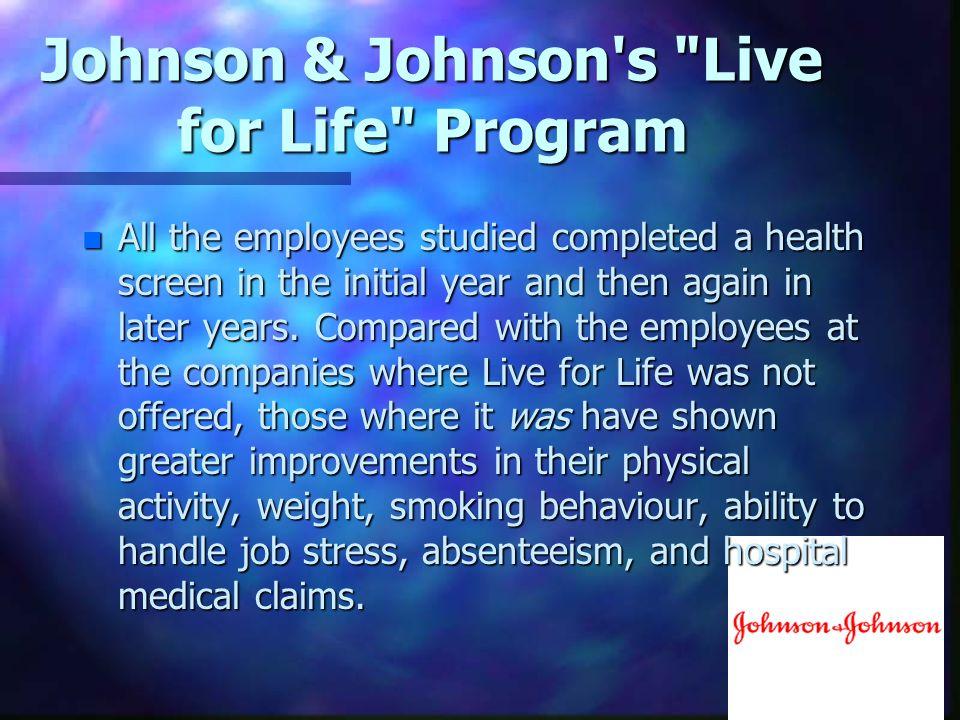 Johnson & Johnson's
