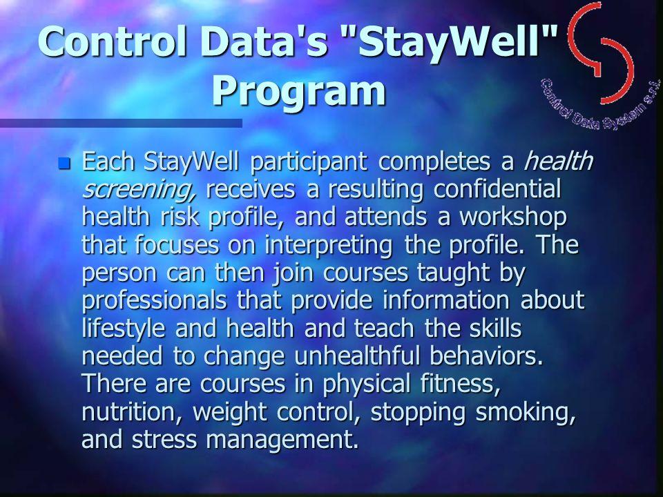 Control Data's