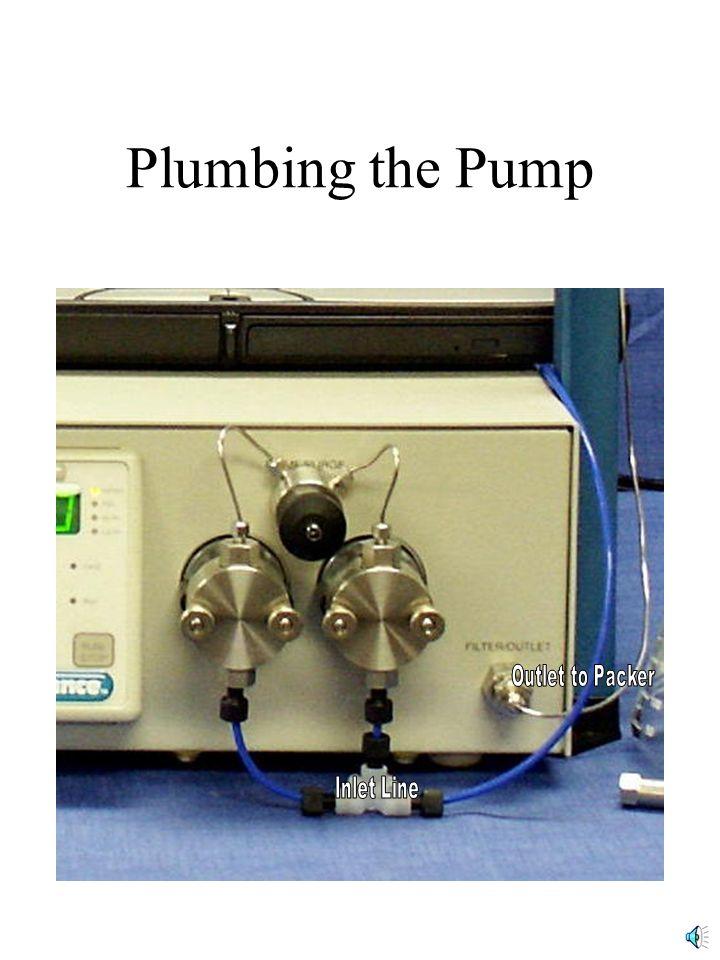 Plumbing the Pump