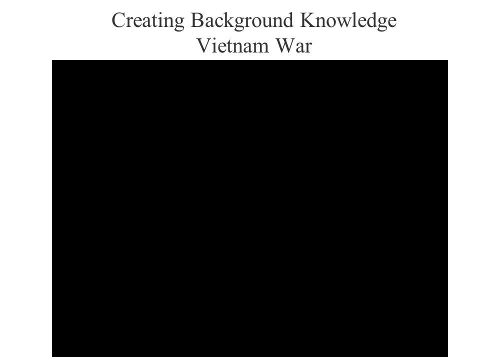 Creating Background Knowledge Vietnam War