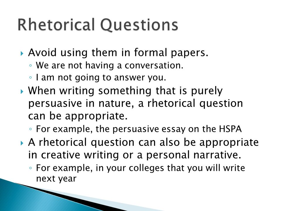 Avoid using them in formal papers. We are not having a conversation.