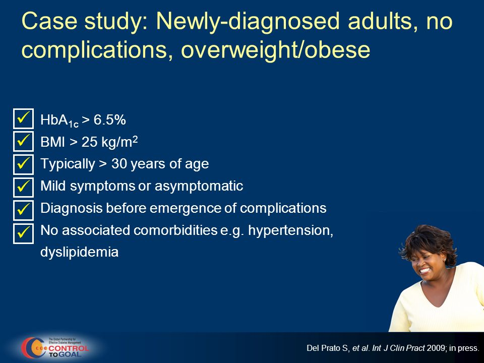 Individuals at risk of hypoglycemia Practical guidance: other considerations Educate patients on being alert to possible hypoglycemia, to increase awareness and responsiveness to symptoms of hypoglycemia Counseling particularly vulnerable patients such as the elderly on increased risk of hypoglycemia with irregular lifestyles/eating patterns and encourage compliance to prescribed regimens Emphasize the importance of regular self-monitoring of glucose where appropriate Del Prato S, et al.