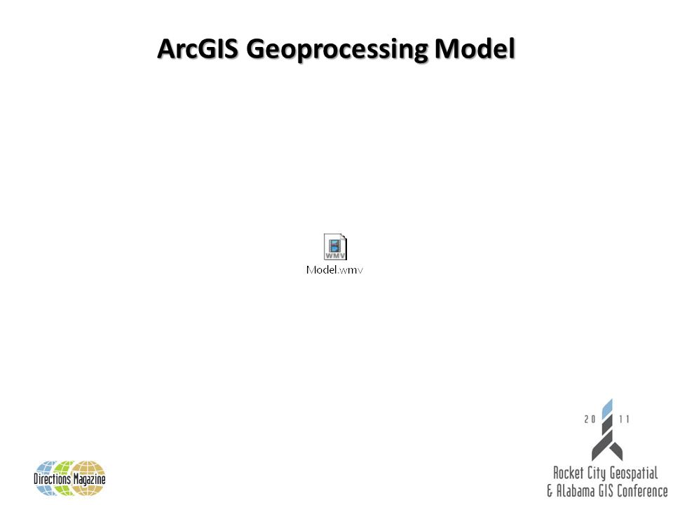 ArcGIS Geoprocessing Model