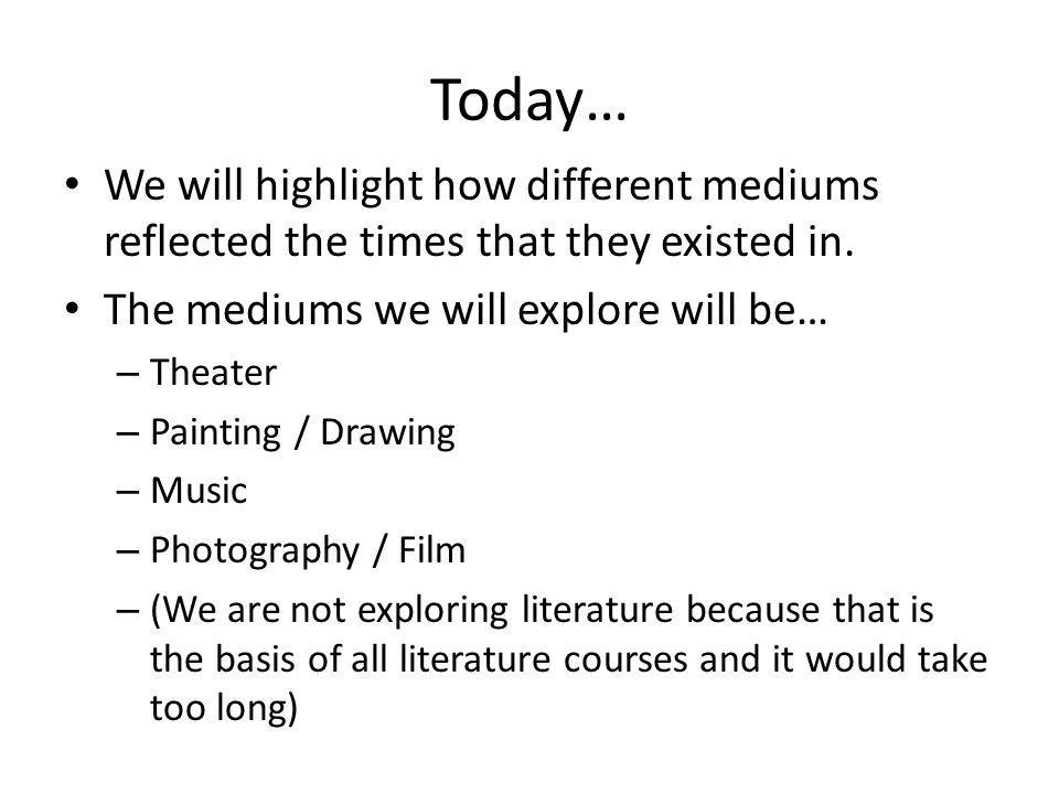 Key Examples of Art Theater – Time driven by the fight over the direction of the main character / story arc.