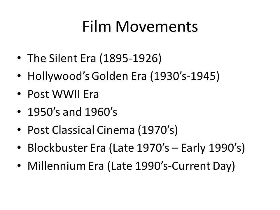 We are now going to… Pick certain eras in history and demonstrate how the times lead to cultural movements and epochs.