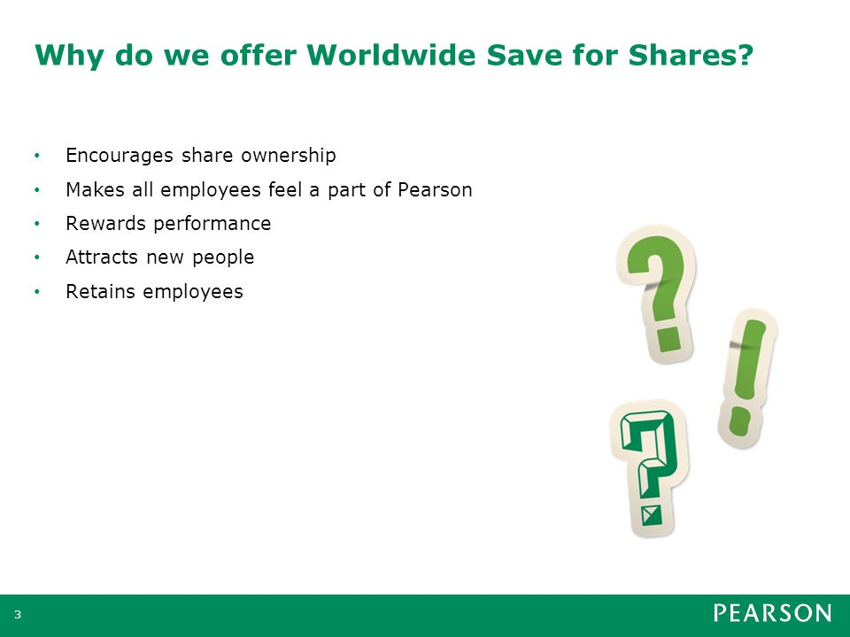 What is Worldwide Save for Shares.