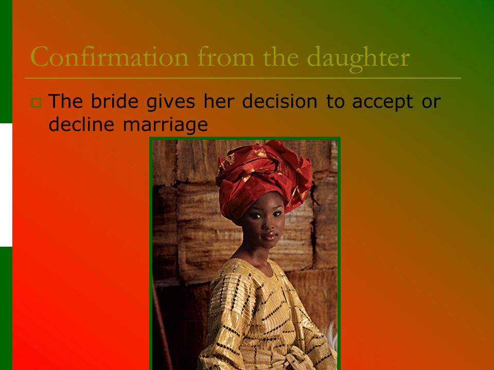 Nigerian Traditional Marriage Video http://www.youtube.com/watch?v=mJb_- WTAKDY http://www.youtube.com/watch?v=mJb_- WTAKDY