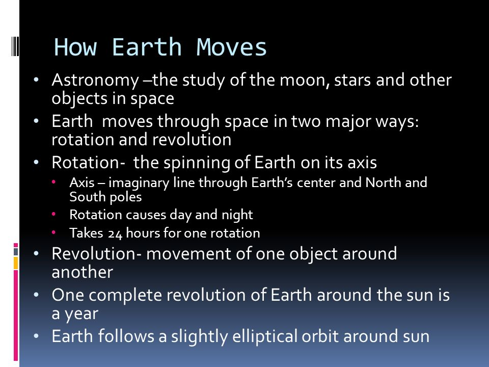 Equinoxes Halfway between the solstices, neither hemisphere is tilted toward or away from sun Noon is directly overhead at the equator Day and night are equal lengths - about 12 hours each Occurs twice a year around March 21(Vernal or spring equinox) and September 21 (autumnal equinox)