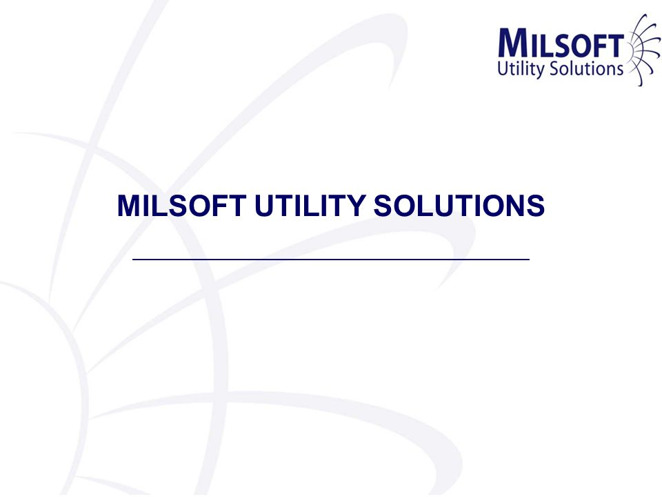 MILSOFT Smart Grid MILSOFT will expand and enhance WindMilMap GIS to display distribution grid information from WindMil real time analysis and DisSPatch active grid management.