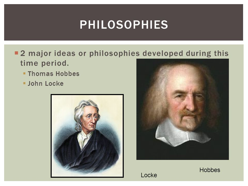 john locke and thoomas hobbes 3 abstract the right of revolution in the social contract theories of thomas hobbes and john locke is a curious topic this paper discusses the differences and similarities between the two.