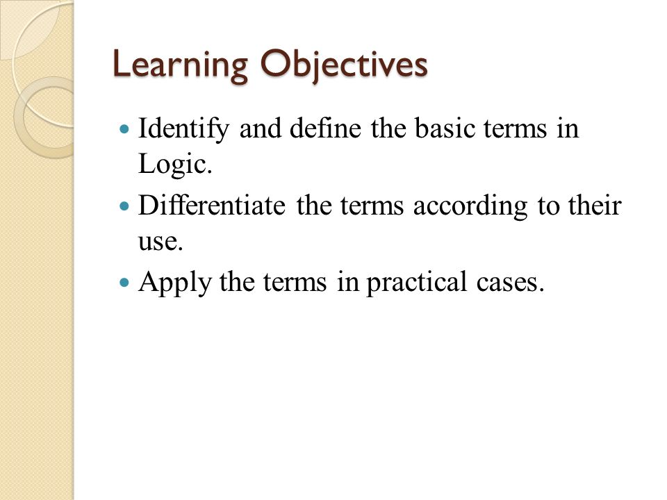 Inductive Argument – argument with premises that support but do not guarantee the necessity of its conclusion.