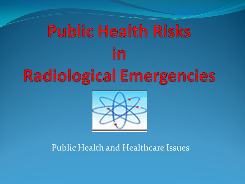 Public Health and Healthcare Issues