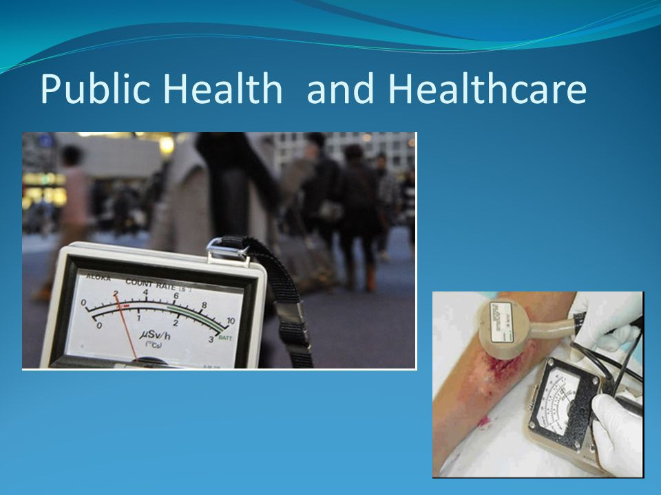 Public Health and Healthcare