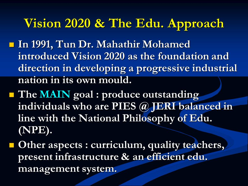 Structuring the Edu.Curriculum Reviewed in line with the 1967 Higher Edu.