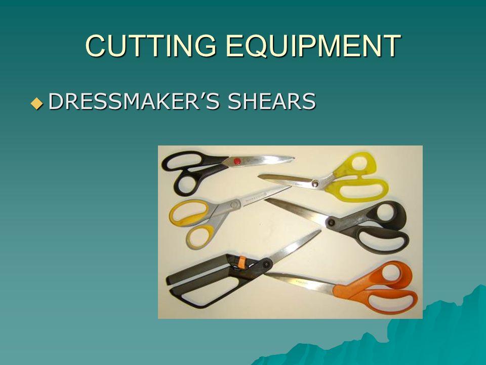 CUTTING EQUIPMENT DRESSMAKERS SHEARS DRESSMAKERS SHEARS