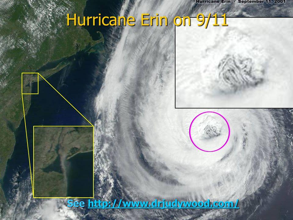 109 See http://www.drjudywood.com/ http://www.drjudywood.com/ Hurricane Erin on 9/11