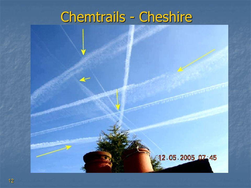 12 Chemtrails - Cheshire