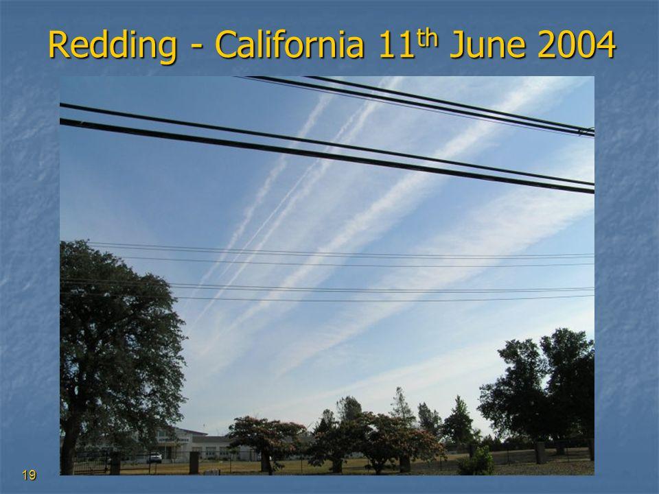 19 Redding - California 11 th June 2004