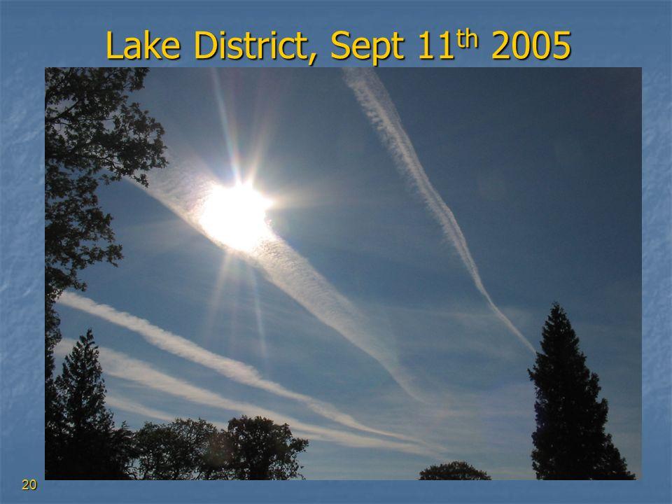 20 Lake District, Sept 11 th 2005