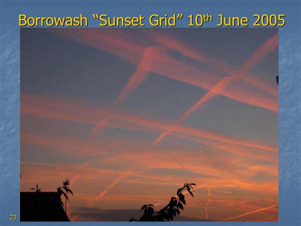 23 Borrowash Sunset Grid 10 th June 2005